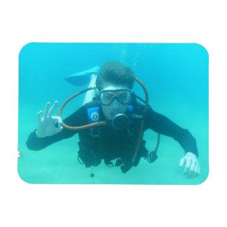 Scuba Diver Flexible Magnet