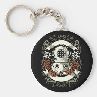 Scuba Diver Key Ring