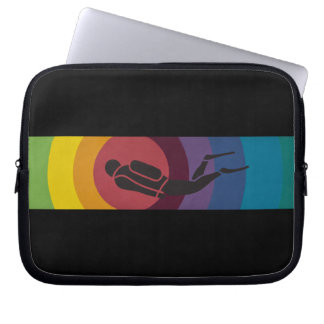 Scuba Diver Laptop Sleeve