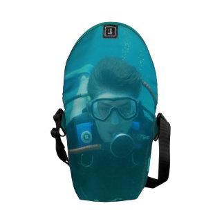 Scuba Diver Courier Bags