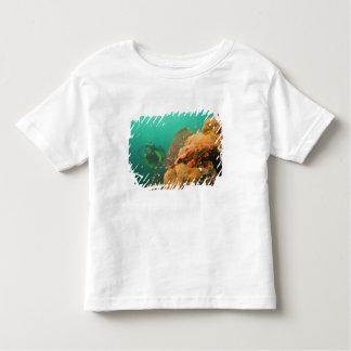 scuba diver & Scorpionfish Scorpanopsis Toddler T-Shirt