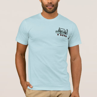 Scuba Divers  Funny Do It Mens Blue T-shirt
