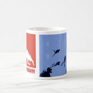SCUBA divers mug
