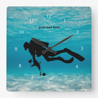 Scuba Diving Clocks