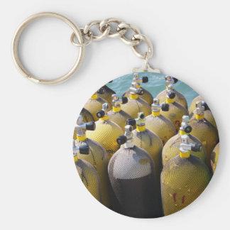 Scuba Diving Equipment Key Ring