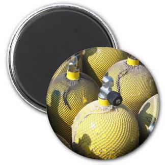 Scuba Diving Equipment Magnet