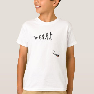 SCUBA Diving Evolution T-Shirt