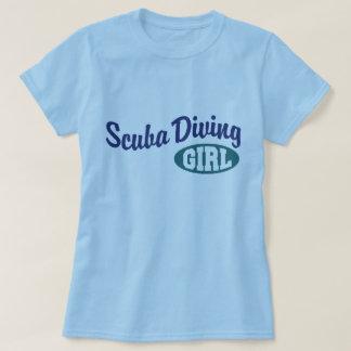 Scuba Diving Girl T-Shirt