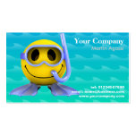 Scuba Diving Instructor Business Cards