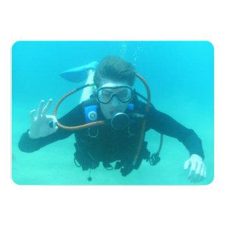 Scuba Diving Personalized Invites