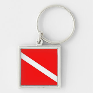 scuba diving key chain
