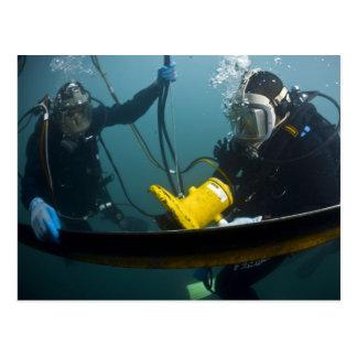 Scuba Diving Postcard