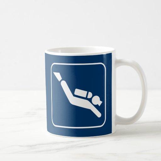Scuba Diving Symbol Mug