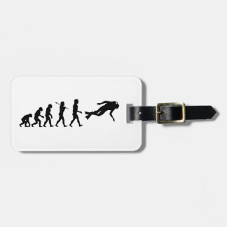 Scuba Diving Water Sport Luggage Tag
