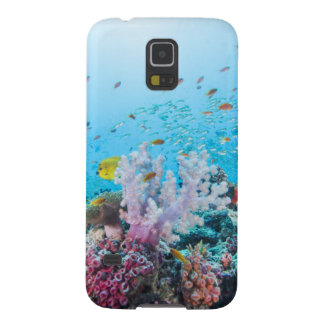 Scuba Diving With Colorful Reef And Coral Galaxy S5 Cover