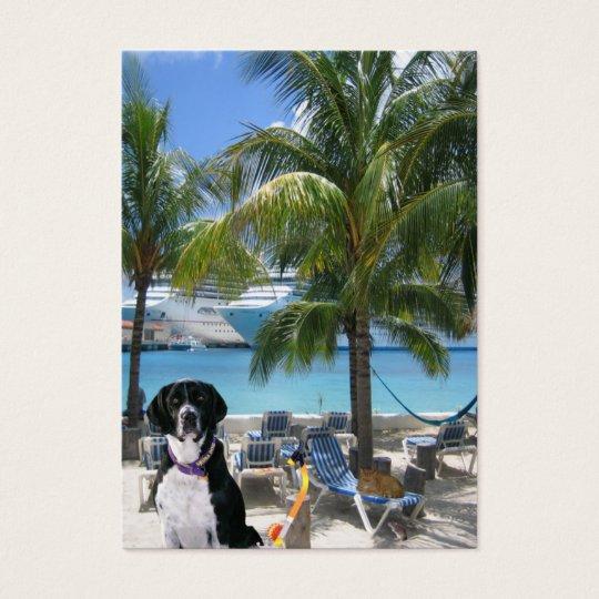 "Scuba Dog ""Imaginative"" Trading Card"