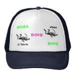 Scuba dove dove 13 leaves hat