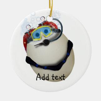 SCUBA Egg - Venture Christmas Ornaments
