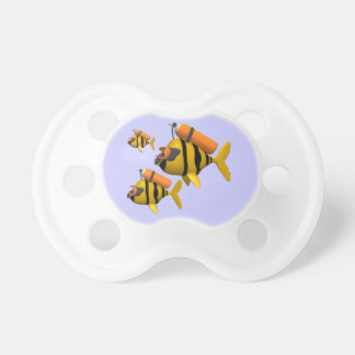 Scuba Fish Baby Pacifiers