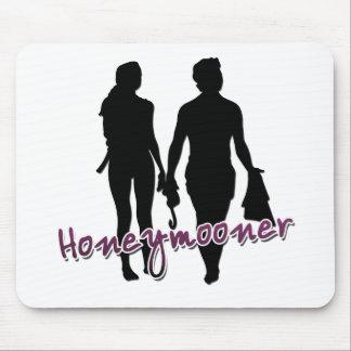 Scuba Honeymooner Tees and Gifts Mousepads