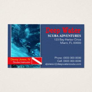 Scuba Instructor Business Card