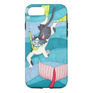 Scuba Kitty Phone Case