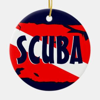 Scuba Ornament