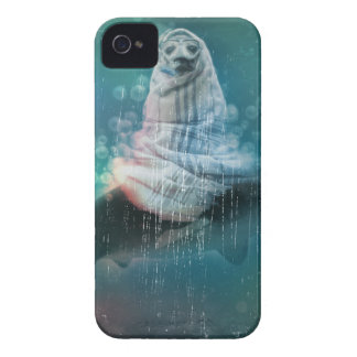 Scuba Seal Shark Life Funny Case-Mate iPhone 4 Cases