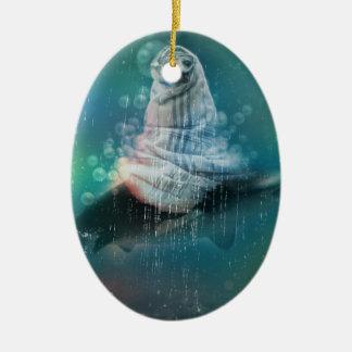 Scuba Seal Shark Life Funny Christmas Ornament