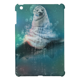 Scuba Seal Shark Life Funny iPad Mini Cover