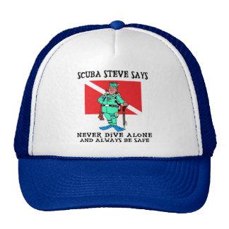 SCUBA Steve Cap