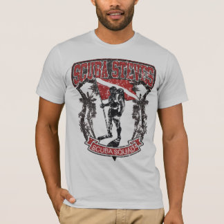 SCUBA STEVES SCUBA SQUAD DISTRESSED T-Shirt