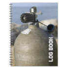 Scuba Tank Dive Log Book