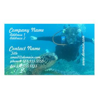 Scuba Underwater Life Business Cards