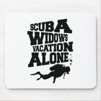 Scuba Widows Mouse Pad