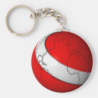 Scuba World Key Ring