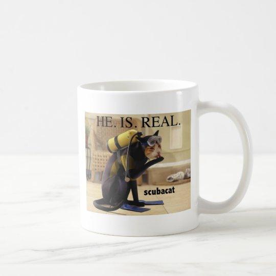 scubacatREAL Coffee Mug