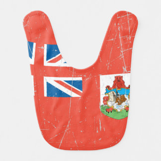 Scuffed and Scratched Bermuda Flag Bib