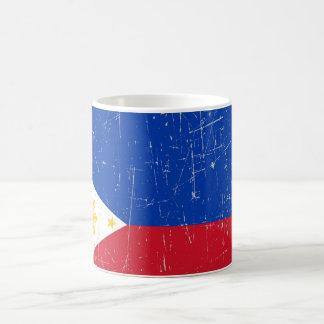 Scuffed and Scratched Filipino Flag Mug