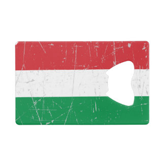 Scuffed and Scratched Hungarian Flag