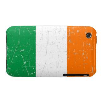 Scuffed and Scratched Irish Flag Case-Mate iPhone 3 Case