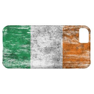 Scuffed and Worn Irish Flag iPhone 5C Cases