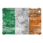 Scuffed and Worn Irish Flag iPad Mini Case