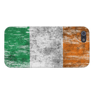 Scuffed and Worn Irish Flag Covers For iPhone 5