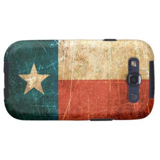 Scuffed and Worn Texas Flag Samsung Galaxy SIII Cases