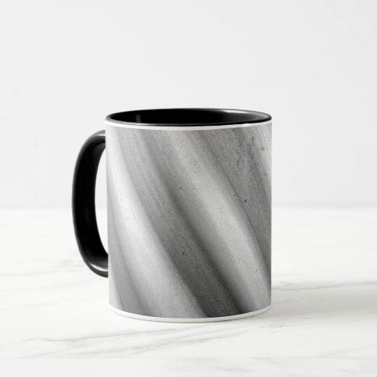 Scuffed Corrugated Steel Culvert Pipe Coffee Mug