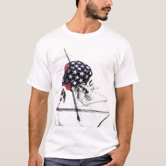 scull flag head T-Shirt