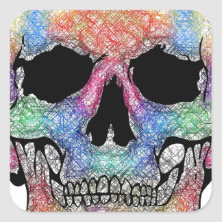Scull products stickers