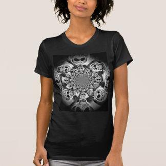Scull Swirl Design T Shirt