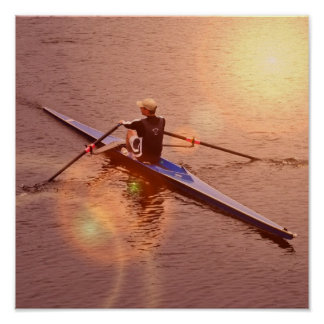 Sculling  Poster